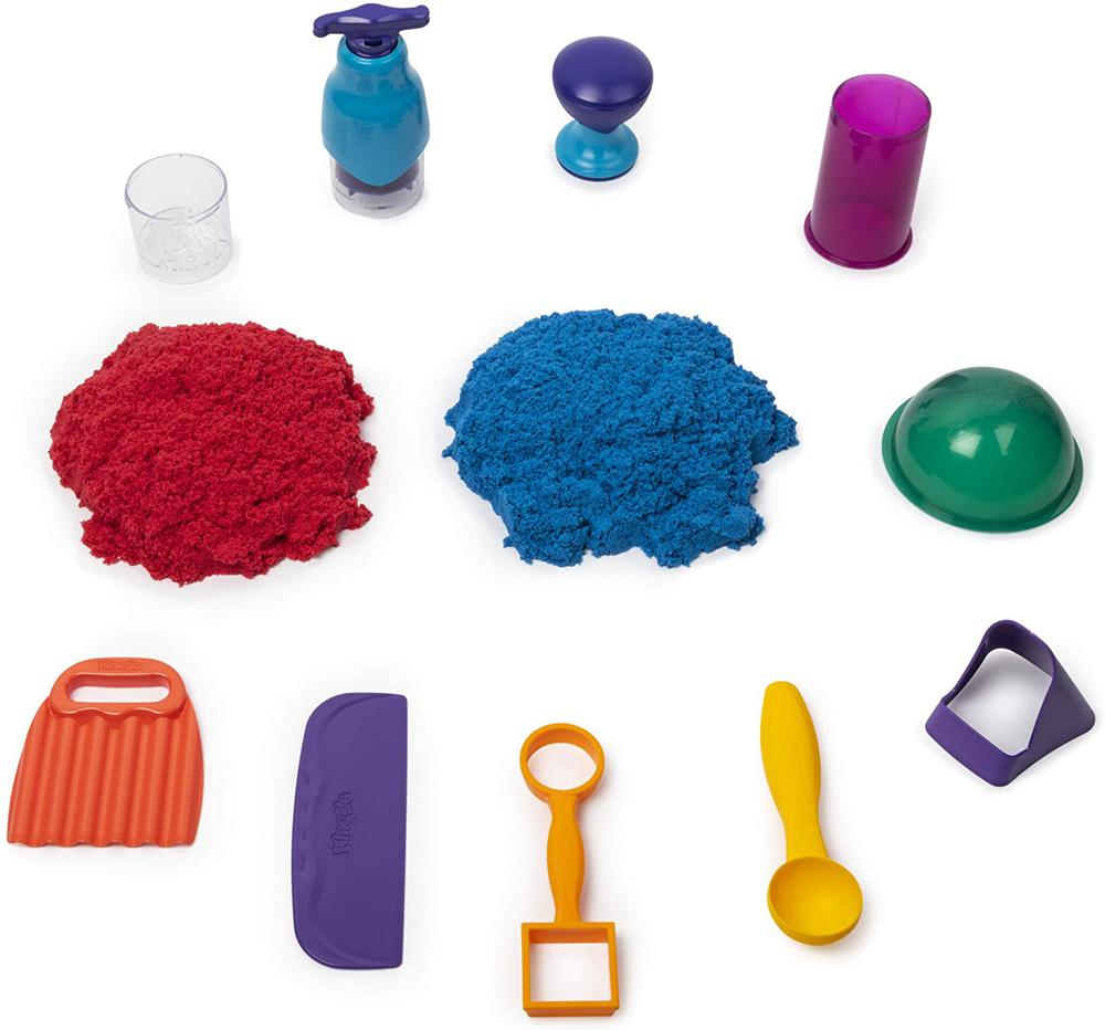 Ensemble de jeu Sandisfying de Kinetic Sand