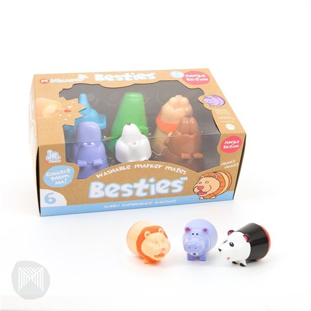 Besties Marker Mates Jungle (paquet de 6) - Boutique LeoLudo