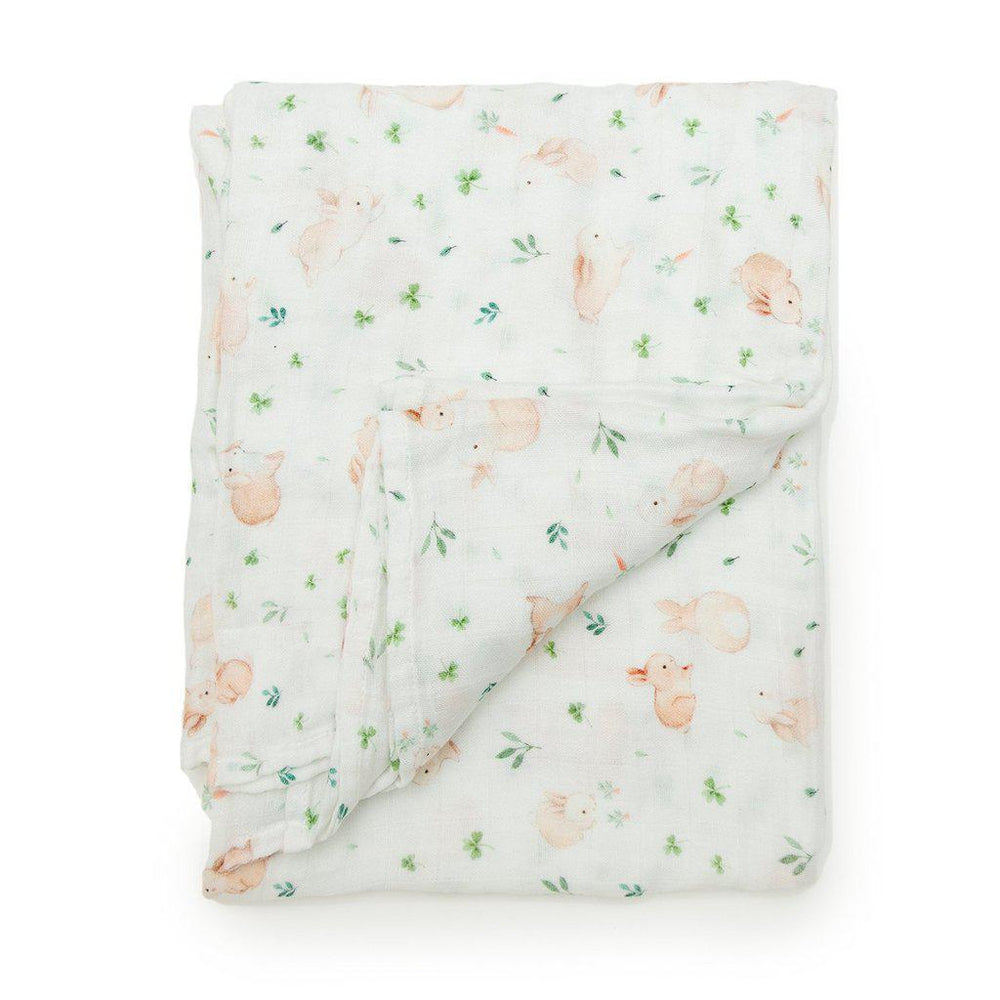 Couverture - Bunny Meadow de Loulou LOLLIPOP - Boutique LeoLudo