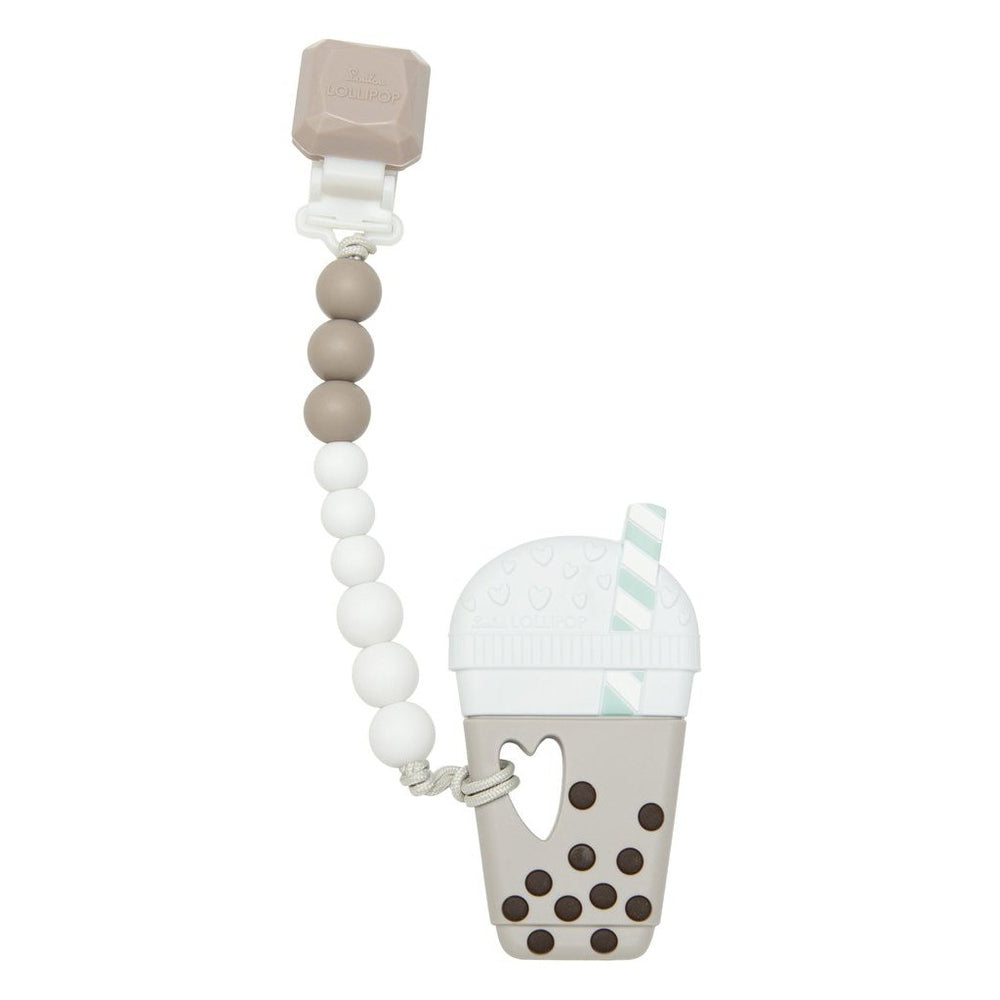 Jouet de dentition avec attache - Bubble Tea-Jouet de dentition-Loulou LOLLIPOP-Boutique LeoLudo