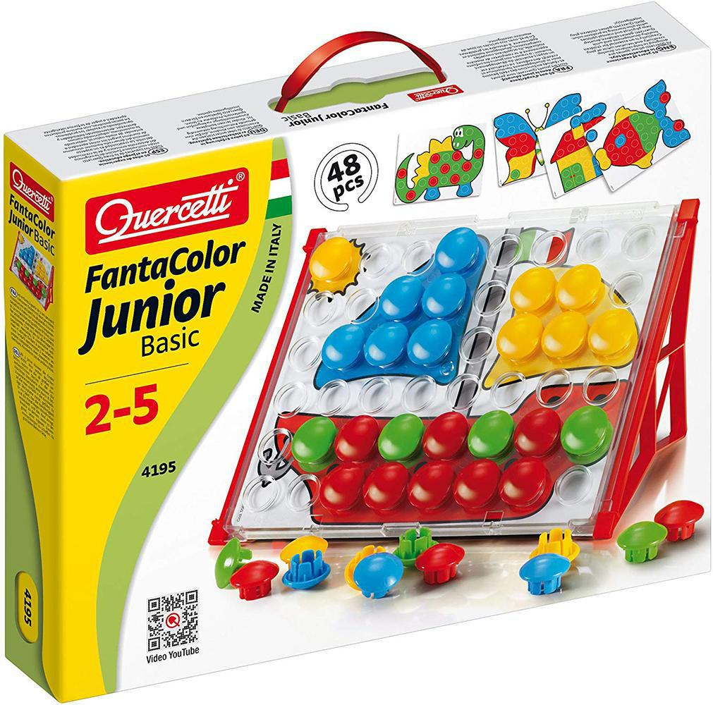 FantaColor Junior Basic (48 mcx.) de Quercetti - Boutique LeoLudo