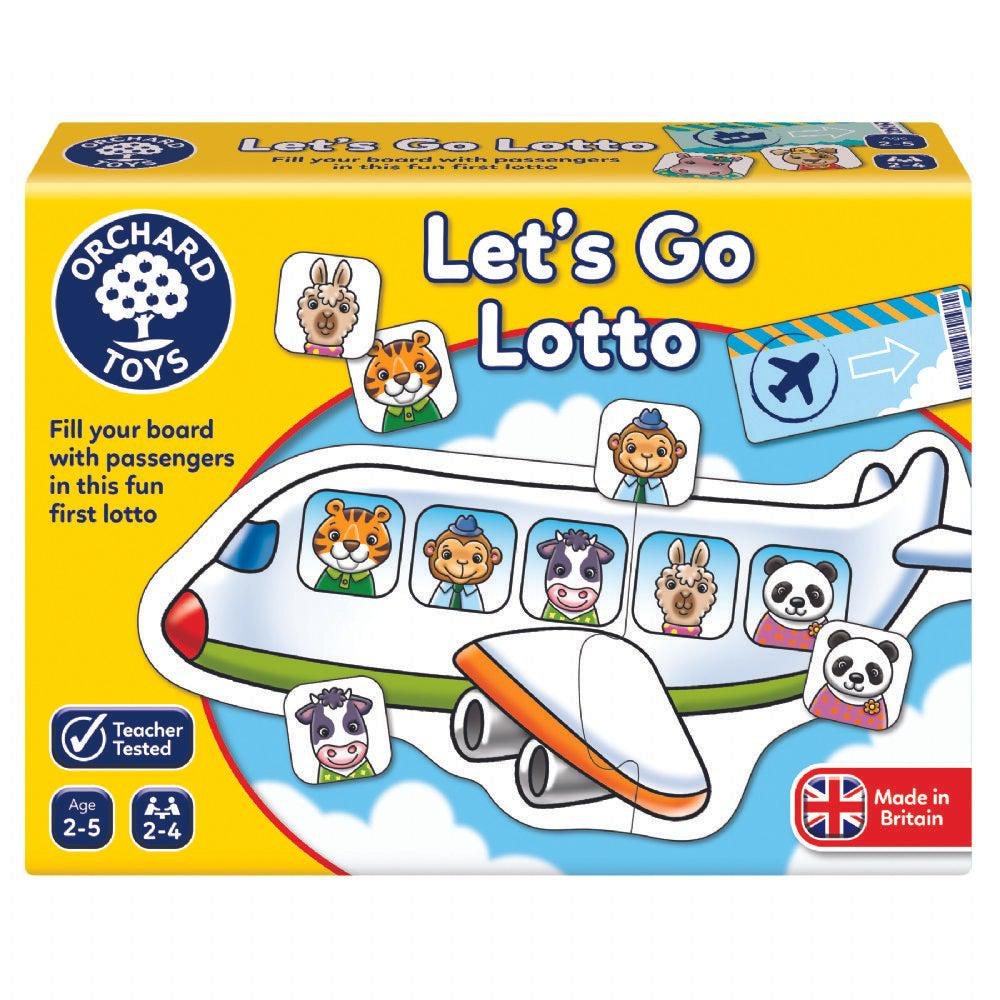 Let's go lotto de Orchard Toys - Boutique LeoLudo
