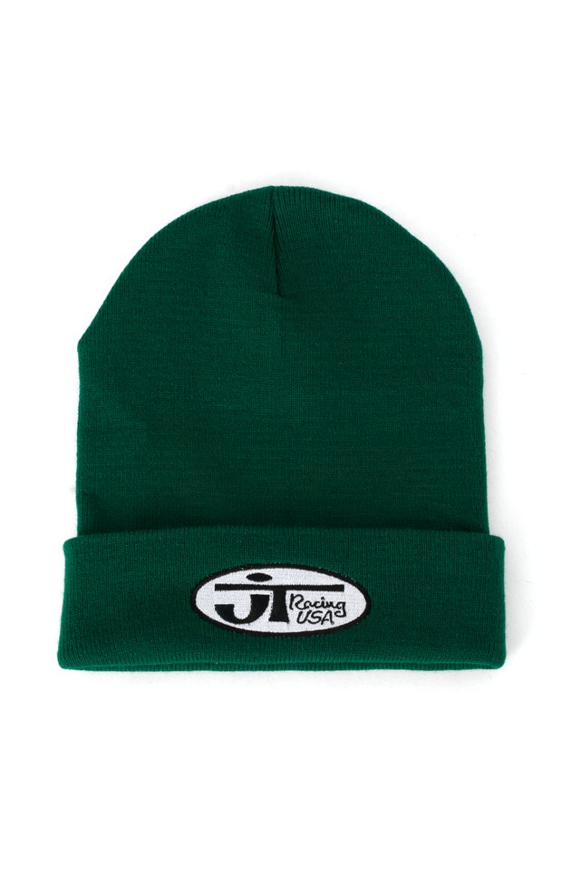 Signature Beanie - Forest Green