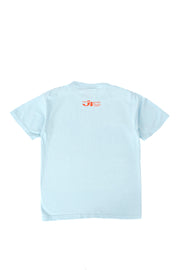 Born and Raised Under the California Sun Tee - Sky Blue