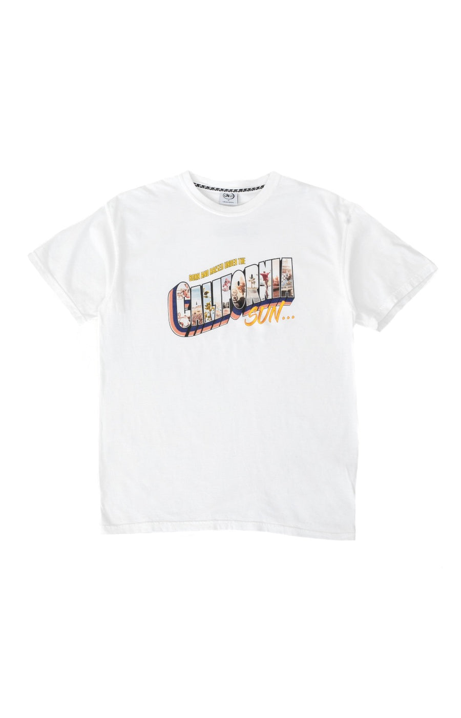 Born and Raised Under the California Sun Tee - White