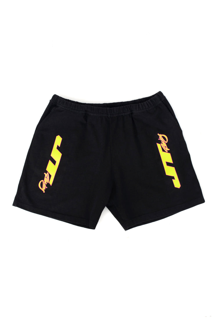 JT Racing Gym Short - Black