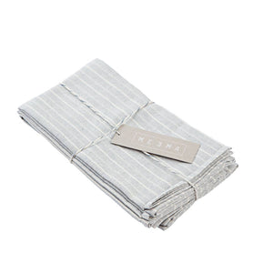 Upcycled Cotton Napkins (Set of 4)