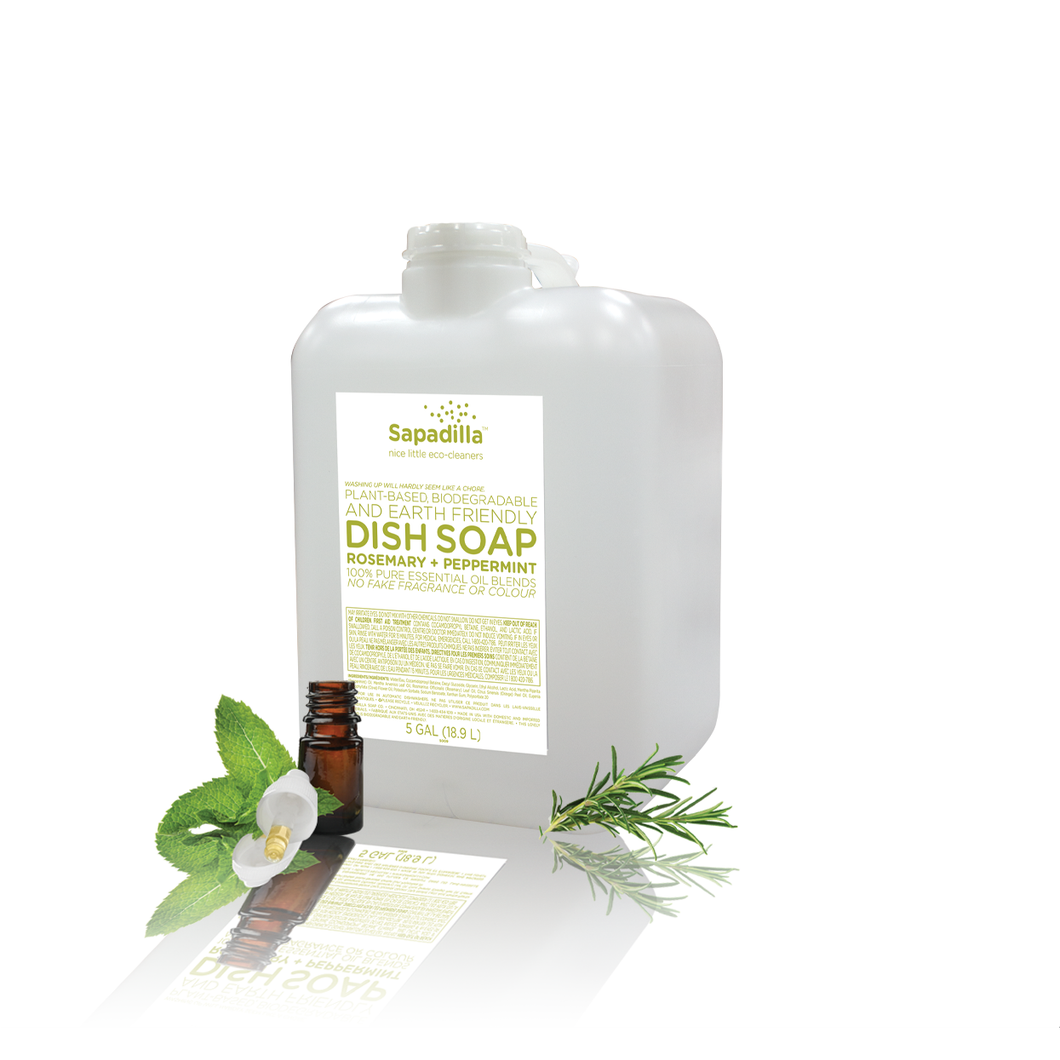 Dish Soap Refill - Rosemary Peppermint