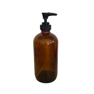 Dispenser - Amber Glass 8 oz
