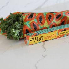Load image into Gallery viewer, Beeswax Food Wrap Roll