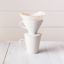 Load image into Gallery viewer, Coffee Cone Filters - Organic Cotton, Set of 2
