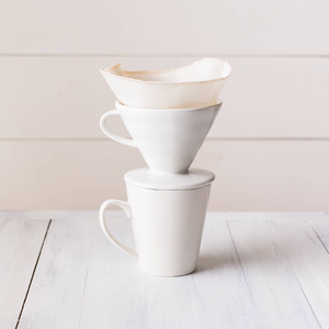 Coffee Cone Filters - Organic Cotton, Set of 2