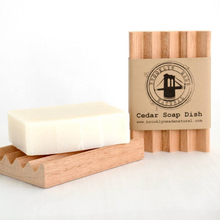 Load image into Gallery viewer, Cedar Soap Dish