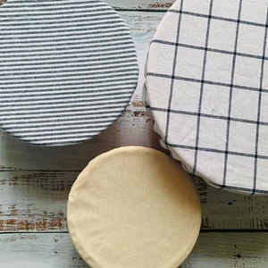 Fabric Bowl Covers (Set of 3)