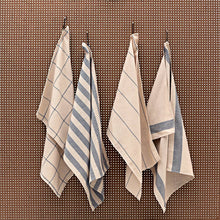 Load image into Gallery viewer, Upcycled Minimal Kitchen Towels (Set of 4)