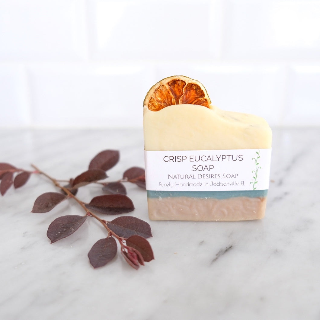 Soap Bar - Crisp Eucalyptus (Natural Desires Soap Co.)