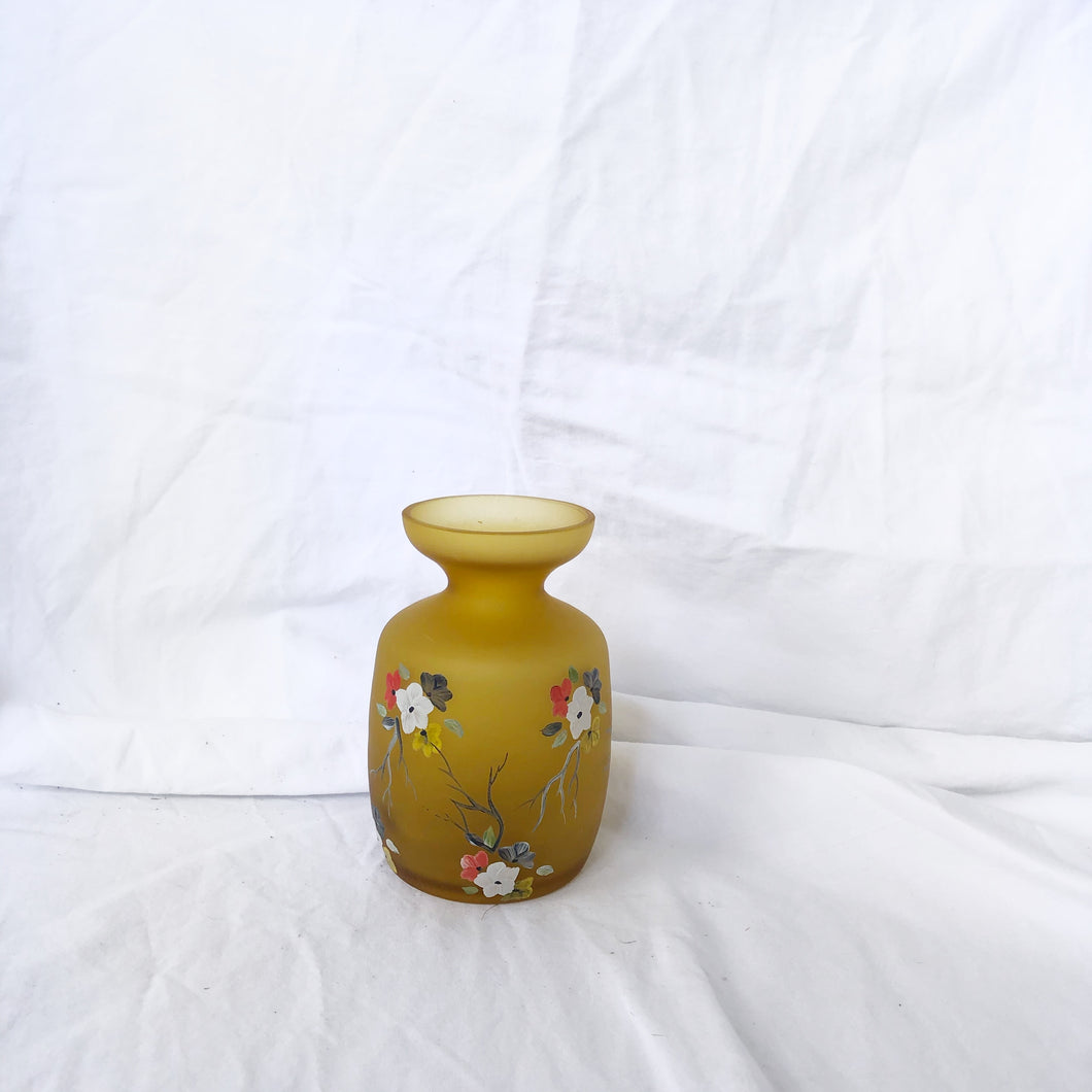 Small Hand Painted Vase