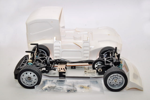 HoBao Racing Hyper EPX 1/10 Semi Truck On-Road ARR (Pearl White Paint body)