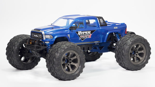 HoBao Hyper MT Plus II Monster Truck RTR- Blue Body