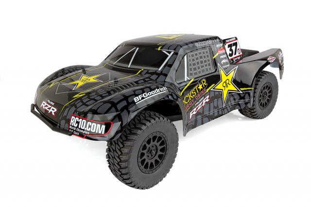 Team Associated ProSC10 Rockstar RTR Brushless 2WD Short Course Truck Combo, with Battery/Charger