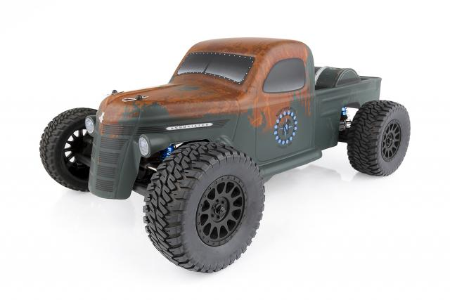 Team Associated Trophy Rat Short Course Truck, Brushless, RTR, 1/10 Scale, 2WD, w/ Lipo Battery and Charger Combo