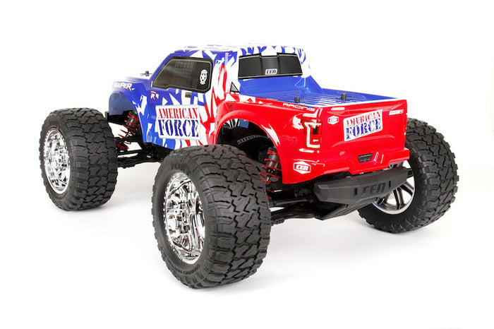 CEN Racing Reeper American Force Edition Mega Monster Truck 1/7 RTR, Brushless w/ Hobbywing ESC and Savox Servo