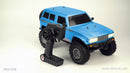 Cross RC FR4 1/10 Demon 4x4 RTR; No Battery or Charger - Blue