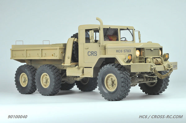 Cross RC HC6 1/12 6x4 Scale Off Road Military Truck Kit