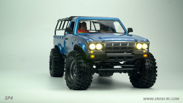 Cross RC SP4C 1/10 Demon 4x4 Crawler Kit, w/ Full Hard Body Full Metal, & CNC Rims