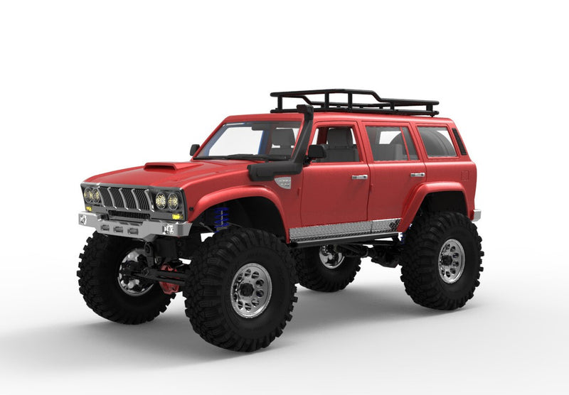Cross RC SU4C 1/10 Demon 4x4 Crawler Kit-Full Hard Body SUV, CNC Rims
