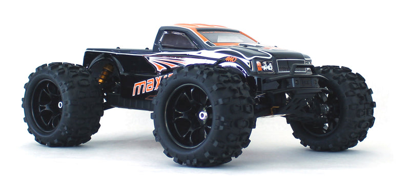 DHK Hobby Maximus 1/8 4WD Brushless Monster Truck, Ready To Run, No Battery or Charger