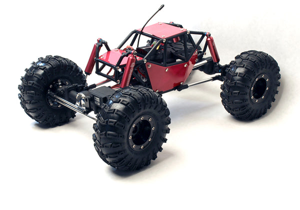 GMade R1 Rock Crawler Buggy RTR, 1/10 Scale, w/ a Tube Frame, and 4WD