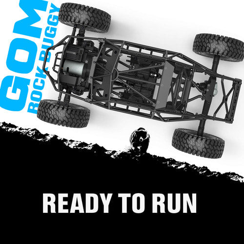 GMade GOM Rockbuggy RTR, Brushed 1/10 Scale, w/ GR01 Chassis and 2.4GHz Radio