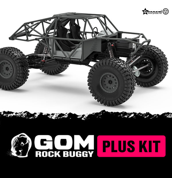 GMade  1/10 GR01 GOM Rock Buggy Plus Kit