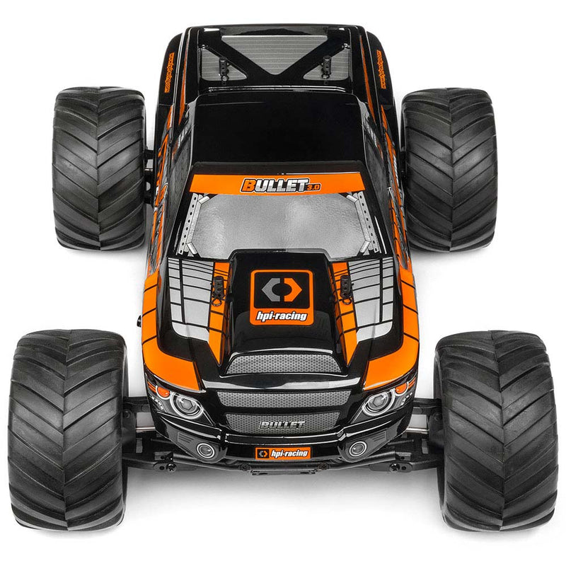 HPI BULLET MT 3.0 Monster Truck RTR, 1/10 Scale, Nitro, 4WD, w/ a 2.4GHz Radio System