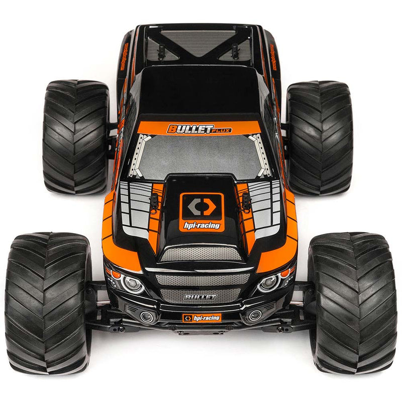 HPI BULLET MT Flux Monster Truck RTR, 1/10 Scale, Brushless, 4WD, w/ a 2.4GHz Radio System