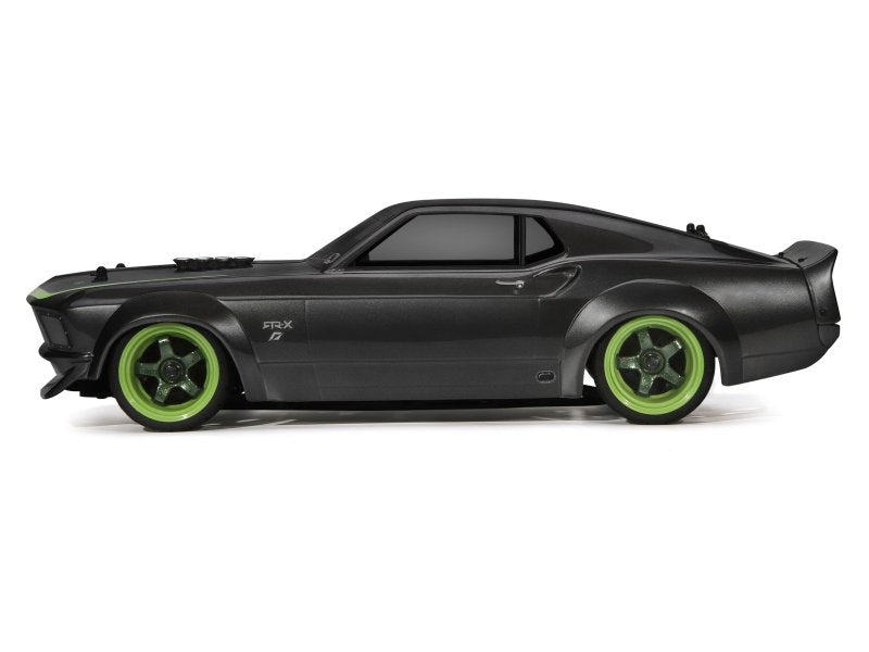 HPI NITRO RS4 3 Evo 1969 Ford Mustang RTR-X, 1/10 Scale, 4WD, w/ 2.4GHz Radio System