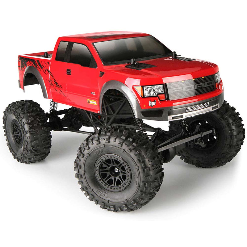 HPI Crawler King Ford F150 Raptor RTR, 1/10 Scale, 4WD, w/ 2.4GHz Radio System