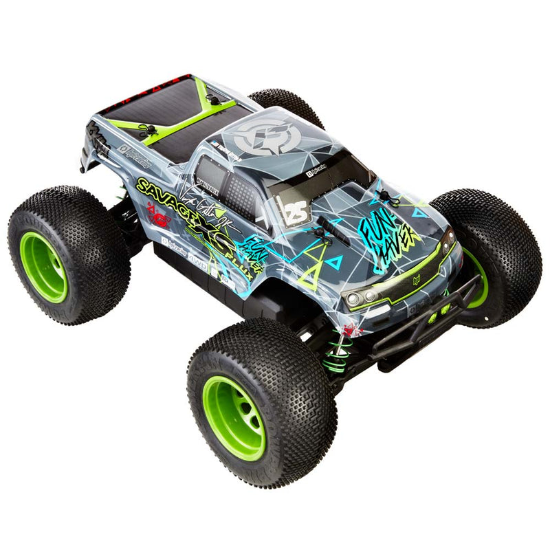HPI Savage XS, Flux Vaughn Gittin Jr Fun-Haver RTR, 4WD, w/2.4GHz Radio System