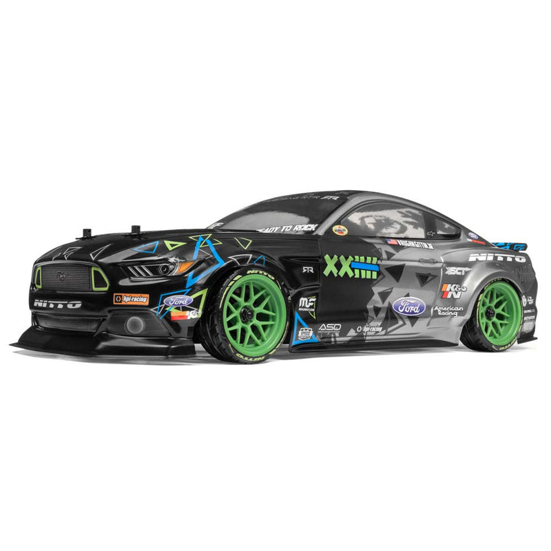HPI RS4 SPORT 3, Vaughn Gitten Jr, FORD MUSTANG, 1/10 Scale, w/ 2.4GHz Radio System