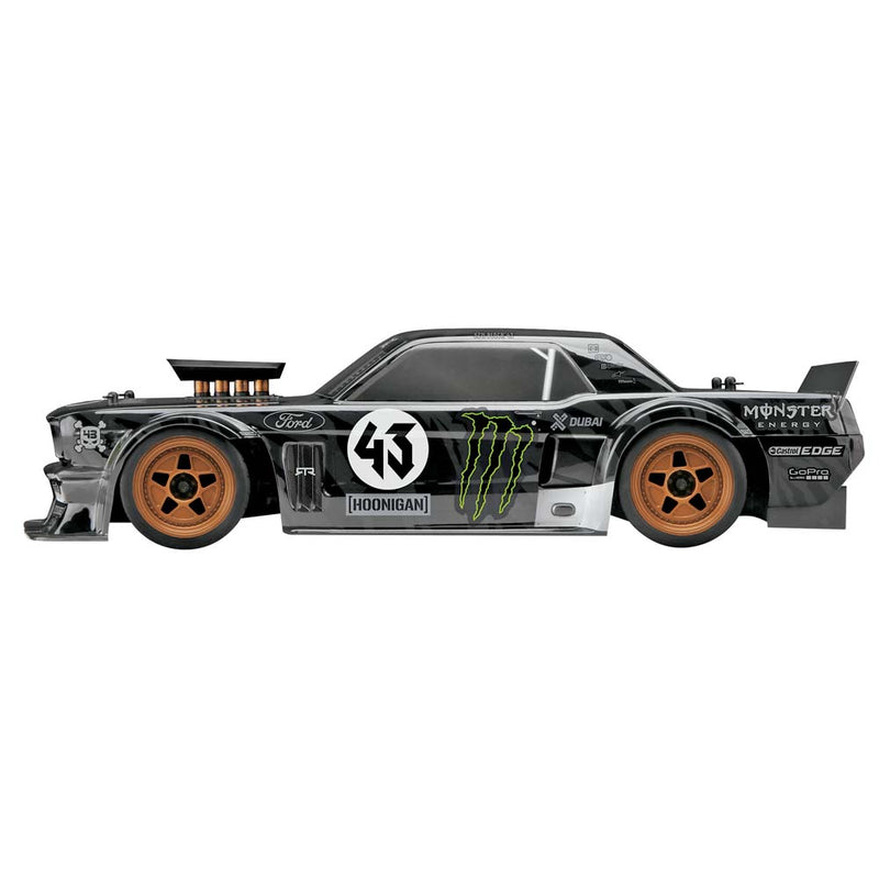 HPI RS4 Sport3, Ken Block, 1965 Ford Mustang Hoonicorn RTR, 1/10 Scale, 4WD, Rally Car