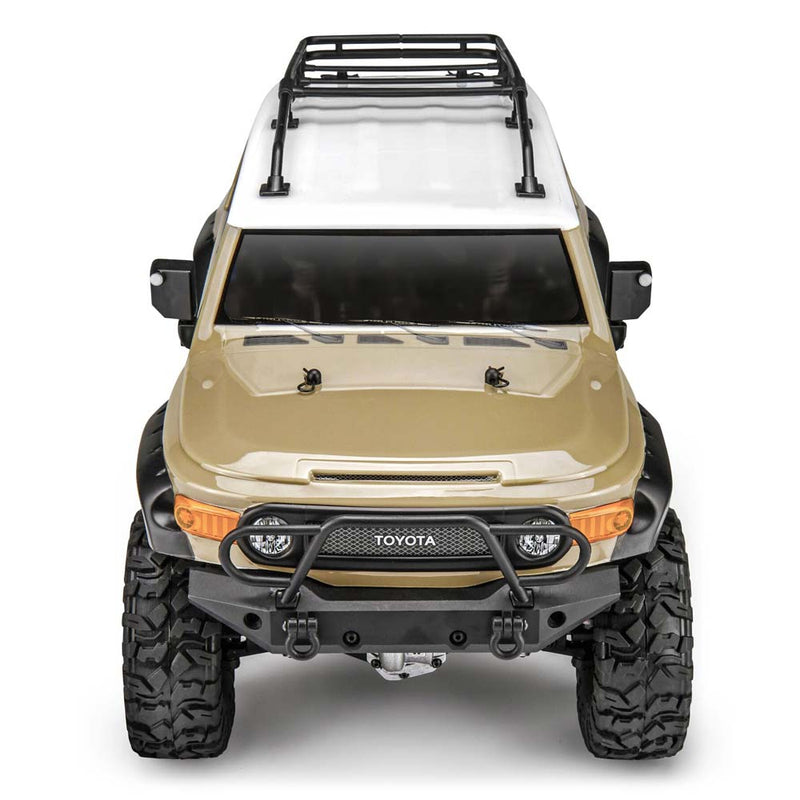 HPI Venture Toyota FJ Cruiser RTR, 1/10 Scale, 4WD, Brushed, Beige, w/ 2.4GHz Radio System