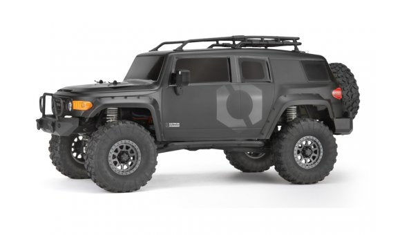 HPI Venture Toyota FJ Cruiser RTR, 1/10 Scale, 4WD, Brushed, Matte Black w/ 2.4GHz Radio System