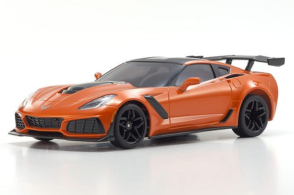 Kyosho MINI-Z RWD Corvette ZR1 Sebring Orange w/ LED