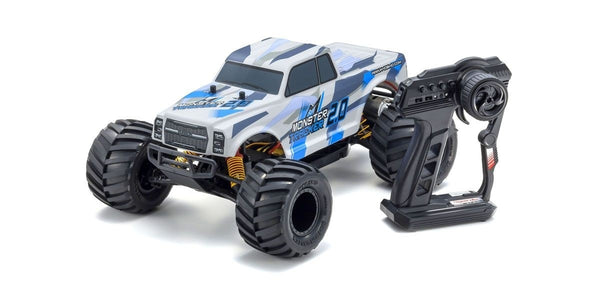 Kyosho 1/10 Monster Tracker 2.0 2WD Monster Truck, w/ Battery & Charger, RTR