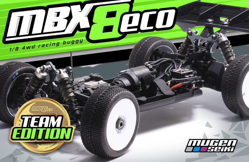 Mugen Seiki MBX8 ECO Team Edition 1/8 Electric Buggy Kit