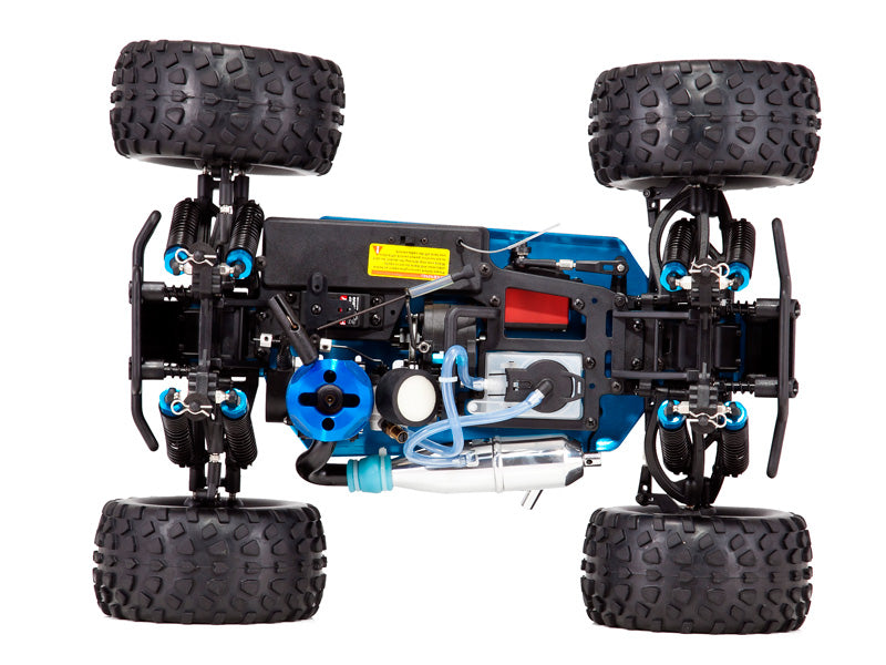 Redcat Racing Volcano S30 1/10 Scale Nitro Monster Truck RTR, Red