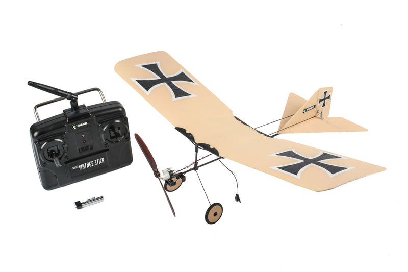 Rage RC Vintage Stick Micro RTF Airplane