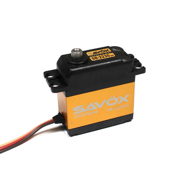 Savox High Voltage Brushless Digital Servo (Tall) .13/583.3 @ 7.4V