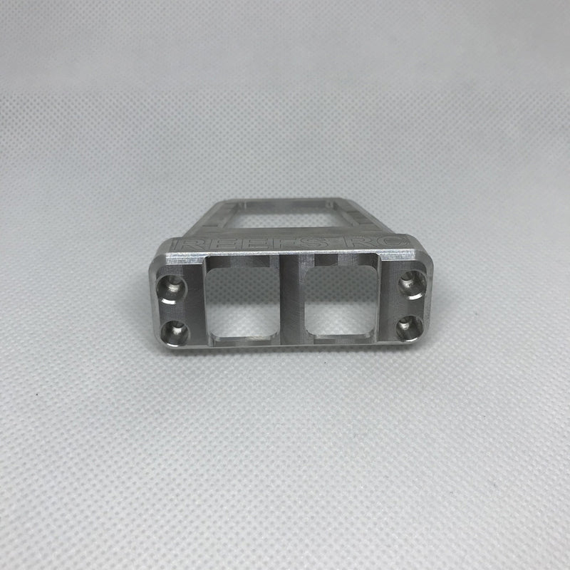 Reefs R/C CNC Machined Aluminum Servo Shield - Raw
